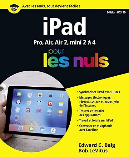 iPad ed iOS 10 pour les Nuls