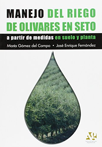 Manejo del riego de olivares en seto