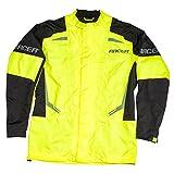 Racer FLEX Regenjacke Motorrad - fluo gelb schwarz Größe XL