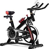 AUMING Fitnessbike Indoor Cycling Bike Glatte, leise Riemenantrieb Indoor-Heimtrainer Home Cardio Workout Upright