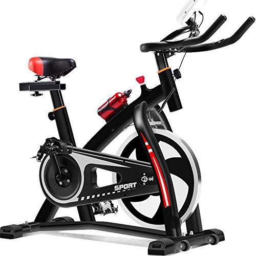 DMMW Fitnessbikes Indoor Cycling Bike Glatte, leise Riemenantrieb Indoor-Heimtrainer Home Cardio Workout Upright Heimtrainer für Home Cardio Gym Workout Fitness