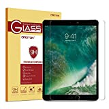 #7: Omoton Apple Pencil Compatible Tempered Glass Screen Protector With [9H Hardness] [Crystal Clear] [Anti-Scratch] [Bubble-Free] For Ipad Pro 10.5 Inch