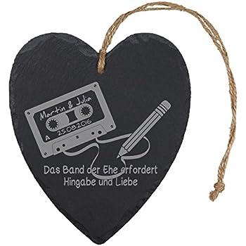 Schiefertafel Spruch « ZUSAMMEN ALT WERDEN » Geschenk Liebe Hochzeit Heirat