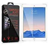 Cadorabo Tempered Glass works with Apple iPad AIR/iPad AIR 2 in HIGH TRANSPARENCY � Screen Protection 3D Touch Compatible with 9H Hardness � Bulletproof Display Saver