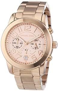 Michael Kors Damen-Armbanduhr Chronograph Quarz Edelstahl beschichtet MK5727