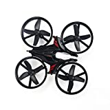 Mini Drone LED giroscopio elicottero 6 assi 2.4G remoto rtf di Quadcopter Commenti A-Key Moda Headless 4 eliche