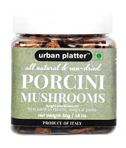 Urban Platter Dried Italian Porcini Mushrooms, 50g