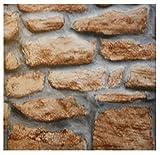 i.stHOME Klebefolie Steinwand Mauer rustikal - Möbelfolie Dekorfolie 45x200 cm - Selbstklebende Folie