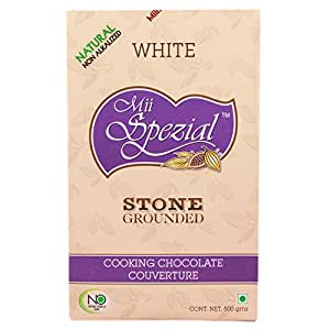 Mii Spezial Couverture White Cooking Chocolate, 500g