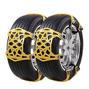 uniauto cha nes neige universelles cha ne neige facile monter pour tout pneu. Black Bedroom Furniture Sets. Home Design Ideas