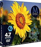 MDisc 4.7GB DVD Recordable Media - 3 Pack Inkjet Printable