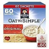 Quaker Oats So Simple Original Microwaveable 27g Sachets X 60