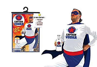 Déguisement Adulte Captain Vodka Taille Unique
