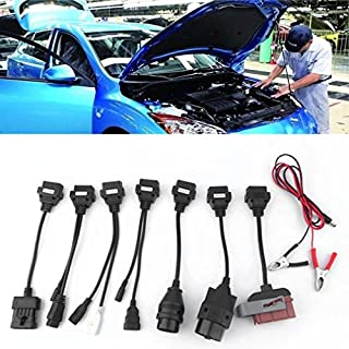[Kinshops] diagnostic auto,OBD2 OBDII 16Pin OBD Diagnose Cable,Stecker Konverter Kabel 8 in 1-- OHNE SOFTWARE