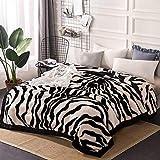 Ericcay Decke Schlafzimmer Bett Bedeckt Mit Casual Chic Decke Vier Jahreszeiten Freizeit Decke Weich Und Komfortabel Doppelte Isolierung Wolldecke (Größe 175 * 215Cm)