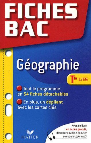 Géographie Tle L/ES
