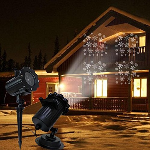 KRISMILEN Projection Lampen Lampe LED Plug Weihnachten Halloween Licht Remote Projection Muster nicht leicht zu Faden 12 Color Karte (Kleidung 8 Crazy)