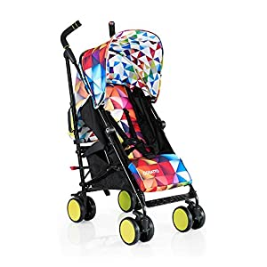 Cosatto Supa Go Stroller (Spectroluxe), suitable from birth, 7 kg   3