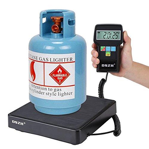 Descripción:  Se utiliza una escala de carga de refrigerante para cargar, recuperar y pesar refrigerantes de A / C comercial, A / C automático, sistema de refrigeración. Realmente es una herramienta ideal para recargar y recuperar todo tipo de refrig...