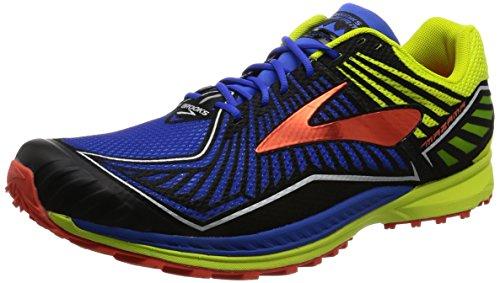 brooks Mazama, Zapatos para Correr para Hombre, Multicolor (Electricbr