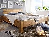 möbelando Bett Doppelbett Bettrahmen Ehebett Bettgestell Massiv Komforthöhe Tampa Bay I