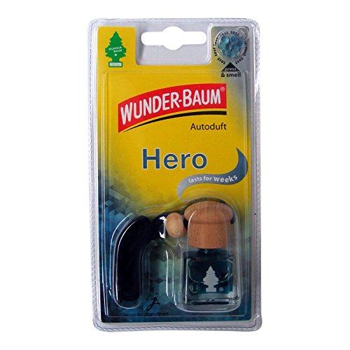 Wunder-Baum 461218/4 Lufterfrischer 4-er Set Duftflakon hero