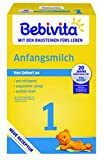 Bebivita Milchnahrung 1 Anfangsmilch, 5er Pack (5 x 500 g)