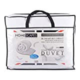 Homescapes King Size 13.5 Tog White Goose Feather & Down Duvet - 100%