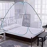 Etophigh Faltbares Moskitonetz Easy Bed Pop Up Zelt Installation Netzwerktür für Kinder Erwachsene Einzeltür