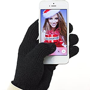 Original Gloviator® Touch Gloves fuer Touchscreen Smartphone Handschuhe - Handy Display