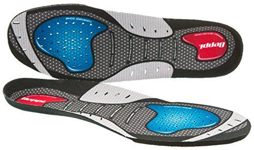Beppi Hi-Performance Einlegesohlen aus EVA-Material| Atmungsaktive und antibakterielle Schuh-Einlage | Komfort-Sohle für Damen und Herren, Größe 38
