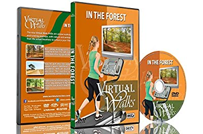 Virtual Walks - In the Forest for Indoor Walking, Treadmill and Cycling Workouts by The Ambient Collection