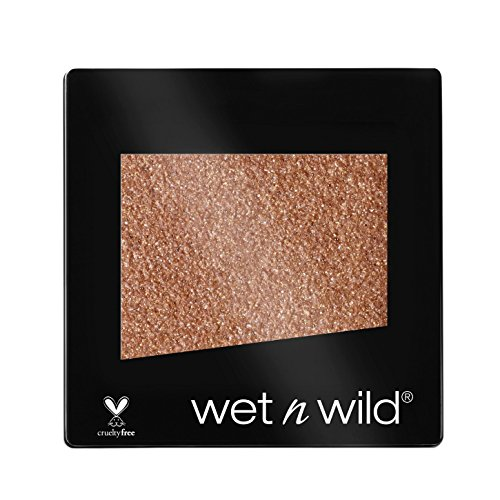 Wet n Wild Color Icon Eyeshadow Glitter Single, Nudecomer, 1.4g