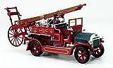 Unbekannt Dennis N Type, Rot, Feuerwehr, Modellauto, Fertigmodell, Yat Ming 1:43