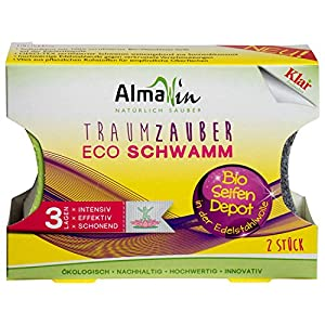 AlmaWin – Sauber Zauber Eco Schwamm (2 Stck.), 8 St