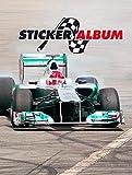 Herma 6688 Stickeralbum Stickerbuch leer zum Sammeln für Kinder, DIN A5 Format, Formel 1 - Rennauto, 1 Stück