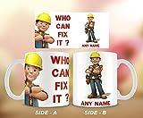 hirosâ ® Personalisieren Bob der Baumeister Tasse, Konstruktion Manager, Weihnachtsstrumpf.