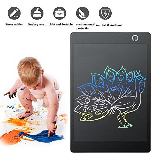 Graphic Tablet 30,5cm Elektronische Writing Tablet, bacaksy Digital Zeichenbrett Doodle Scribble Pad für Kinder Office Schreiben Zeichnen mit Stylus