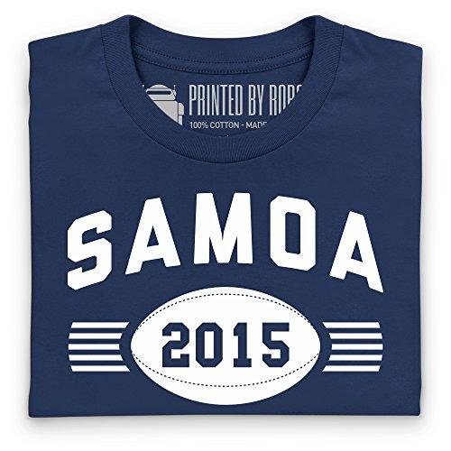 Somoa Supporter T-Shirt, Damen Dunkelblau