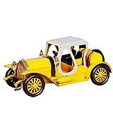 Kreative Vintage Klassische Auto-Modell Handcrafted Möbelzubehör,Yellow