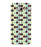 PrintVisa Designer Back Case Cover for Samsung Galaxy A8 (2015) :: Samsung Galaxy A8 Duos (2015) :: Samsung Galaxy A8 A800F A800Y (Girly Pattern Tribal Floral Fabric Culture Rajastan Andhra)
