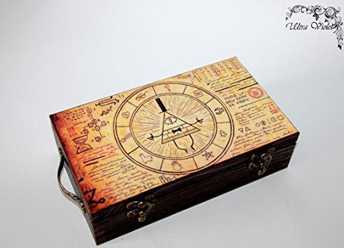 Exklusive Schatulle Gravity falls, Box, schachteln, wood, für schmuck,Holzkästchen, Jewelry Box, Kästchen, Handarbeit - Gravity Box