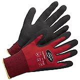 Lagerhandschuh Transporthandschuh Handschuh Kori-Super - Größe 9 - rot/schwarz