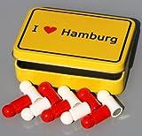 Hansestadt-Magnete in Box