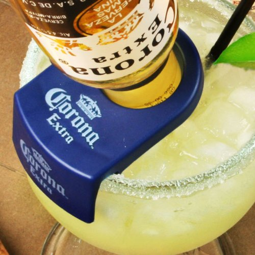 CoronaRita Flaschenhalter-Set von 6  CoronaRita Clips für Schiff & Goblet Gläser   4Rita Clips, beergarita Clips, mexikanischen Bulldog Margarita Clips Margarita-goblet