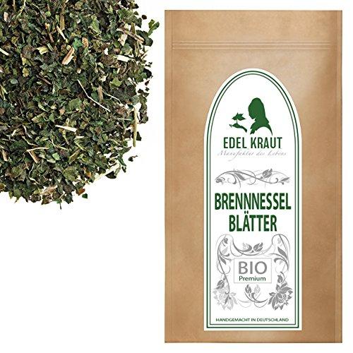 EDEL KRAUT | BIO BRENNNESSEL-BLÄTTER TEE - Premium Brennessel-Tee 1000g (Brennessel Blätter)
