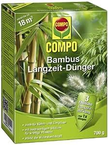 Compo 21586 engrais longue dur e pour bambou 700 g jardin - Engrais pour bambou ...