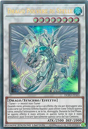 carta Yu-Gi-Oh - Drago Polvere di Stelle - Stardust Dragon - Ultra Rara DUPO-IT103 Italiano