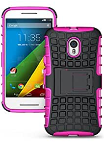 BeeFone ™ Tough Hybrid Armor Back Cover Case with Kickstand for Motorola Moto G3