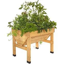 VegTrug Small 1m - jardineras (Box planter, Independiente, Madera, Madera, Madera, Madera)